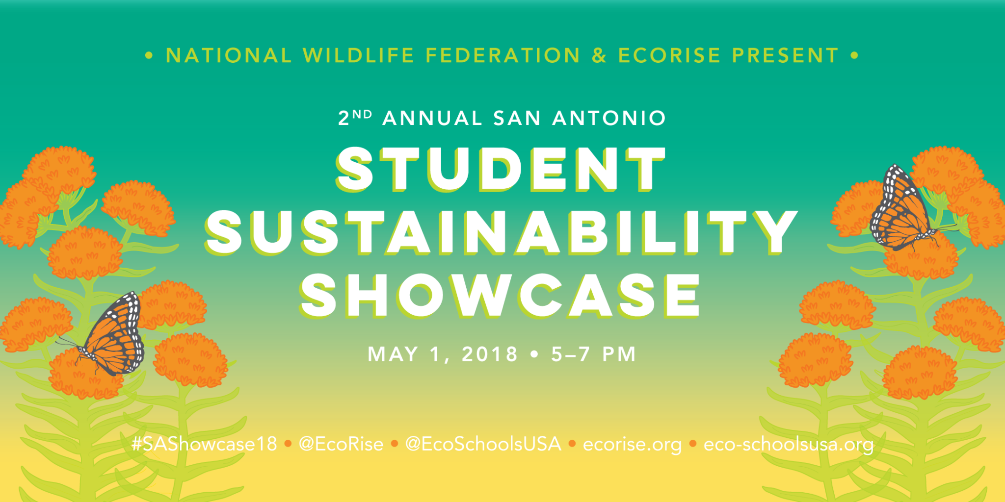 2nd Annual San Antonio Student Sustainability Showcase