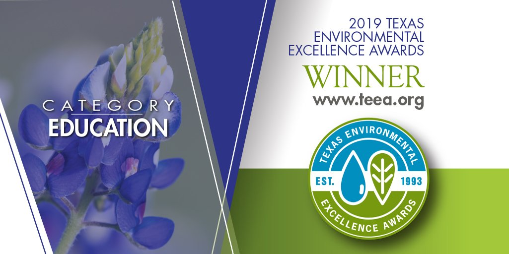 2019 Texas Environmental Excellence Award for Education