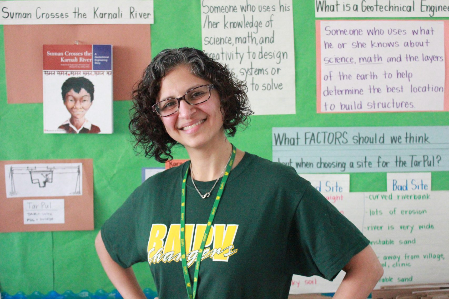 Sabina Malkani, EcoRise Teacher, Washington, D.C.