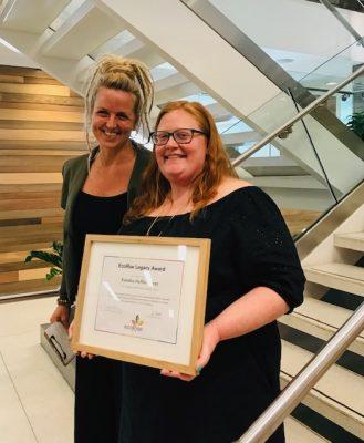 Kendra Heffelbower legacy award winner DC